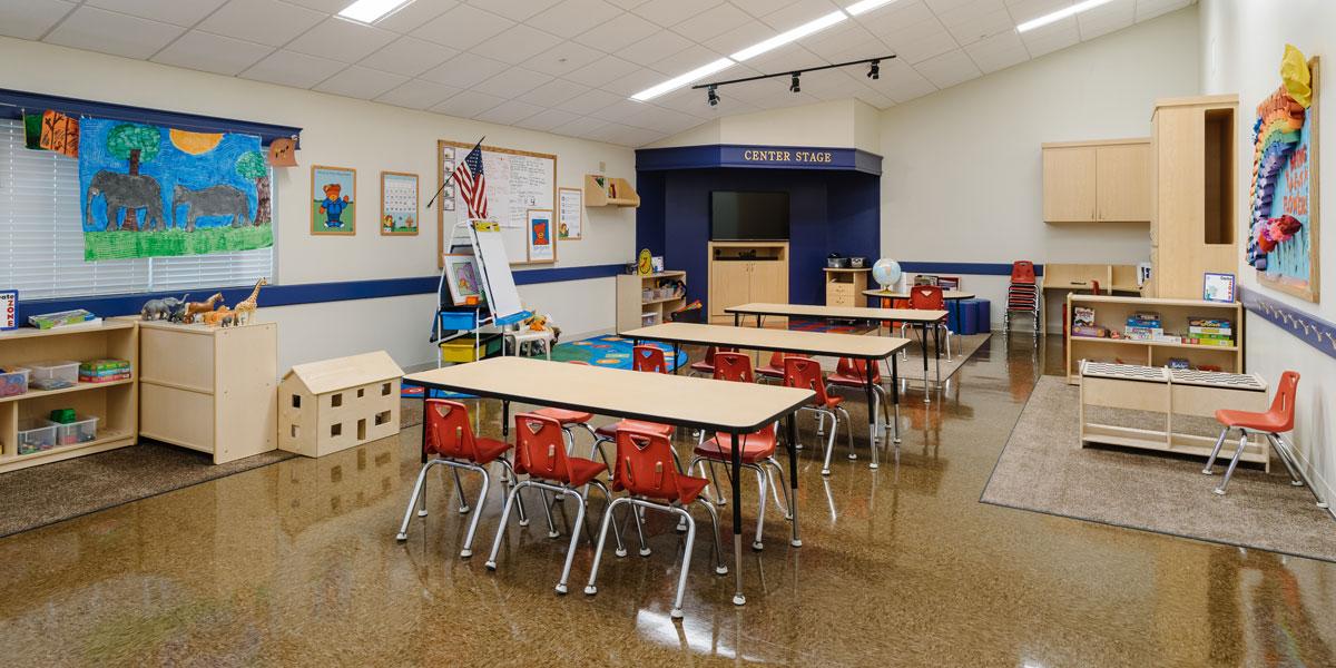 child facility construction primrose school