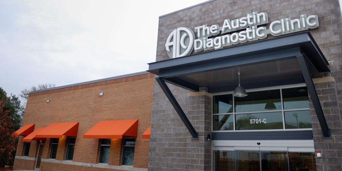 healthcare construction Austin Diagnostic Clinic