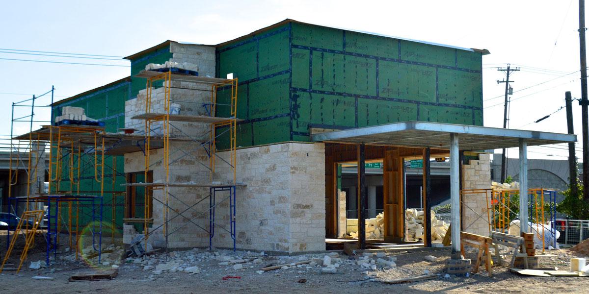 restaurant construction Starbucks