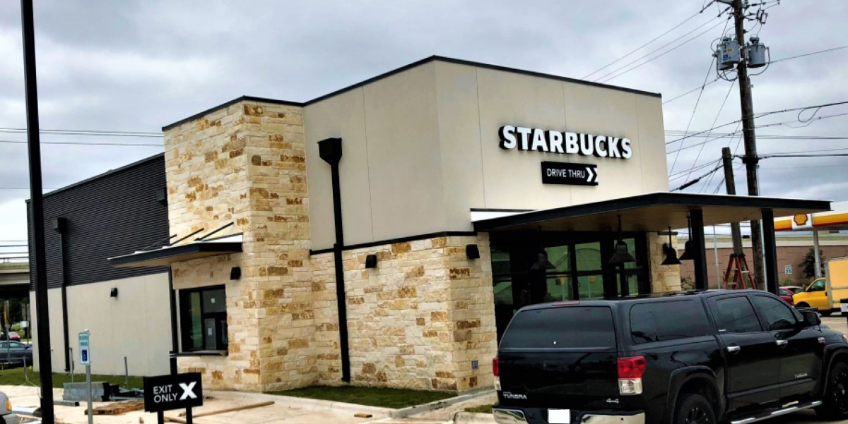 Starbucks Restaurant Construction